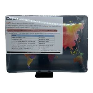 Laptop Case for Apple MacBook Air 13 inch 2018 A1932 World Map