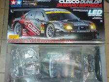 Tamiya 58439 1/10 RC Cusco Dunlop Subaru Impreza - TT01E