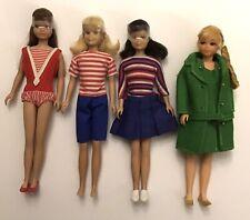 Vintage Mattel SKIPPER Lot-Twist'N Turn- Brunette SL- Brunette & Blonde Scooter