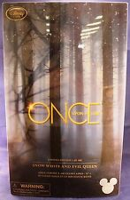 Disney D23 Expo 2015 Once Upon a Time 2 Doll Set LE 300 Evil Queen & Snow White