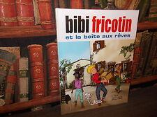 Bibi Fricotin et la boîte aux rêves-Forton-Borrero-Editions Joe-BD