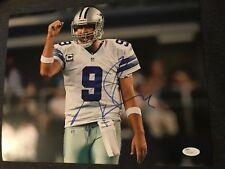 Dallas Cowboys Tony Romo Autographed Signed 11x14 Photo JSA COA #1