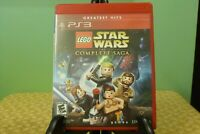 LEGO Star Wars: The Complete Saga (Sony PlayStation 3, 2007) Near Mint W/Manual