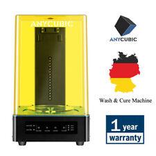DE ANYCUBIC Wash and Cure Machine 405nm UV-Licht Curing TFT für SLA 3D Drucker
