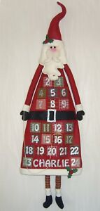 PATCHWORK / QUILTING SANTA'S CHRISTMAS COUNTDOWN ADVENT SEWING PATTERN by Gail