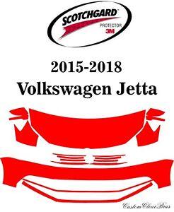 3M Scotchgard Paint Protection Film Clear 2015 2016 2017 2018 Volkswagen Jetta