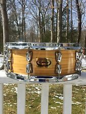 RARE YAMAHA BAMBOO SNARE DRUM 5.5x14, MADE IN JAPAN, FLAWLESS!!