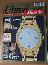 Uhren-Magazin Nr 11 1995 - Uhren Zeitschrift, Uhrenheft, Magazin