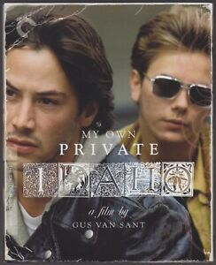 MY OWN PRIVATE IDAHO (1991) Blu-ray DigiPack / Criterion / Mint, as new