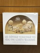 Precious Moments We Gather Together To Ask The Lords Blessing WITH CASSETTE MIB