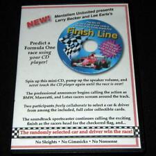 New listing Finish Line Larry Becker Lee Earle Formula 1 Mentalism!