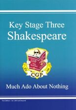 KS3 Shakespeare - Much Ado About Nothing Revision Guide,CGP Books