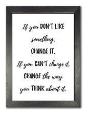 Mary Engelbreit inspirierende Zitat Leben Motivation Poster schöne Weiß Foto