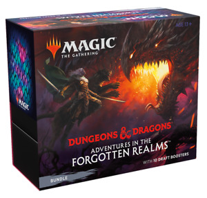 Adventures in the Forgotten Realms Bundle / Fat Pack - MTG - Ships Now!