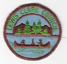 BOY SCOUT  LEWIS-CLARK COUNCIL  50'S  CP    IDAHO