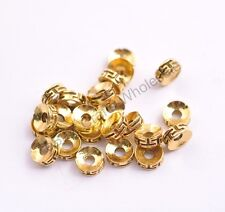 FREE SHIP 50/100Pcs Tibetan Silver Charms Spacer Beads Jewelry Findings  CA3116