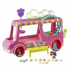 Littlest Pet Shop Tr'eats Truck Playset Toy, Rolling Wheels, Adult Assembly Requ