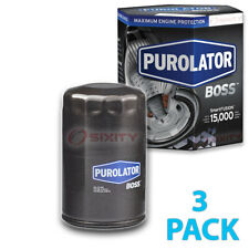 3 Pack Purolator BOSS PBL20252 Engine Oil Filter - 3x Long Life fm