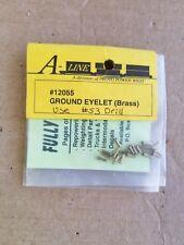 A-Line HO Ground Eyelet Brass #12055