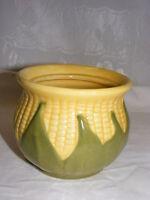 Vintage Shawnee Pottery Yellow King Corn USA Sugar Bowl NO LID #78