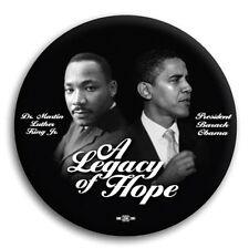 MLK Martin Luther King Barack Obama Legacy of Hope Pin