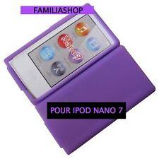 Housse etui coque silicone violet pour iPod Nano 7 7G