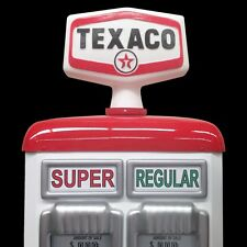 TEXACO GAS USA PETROL CHIEF BOWSER PUMP GLOBE TOP LIGHT SIGN VINTAGE REPO NEW !!