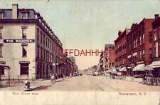 pre-1907 Main Street West, Amsterdam, N.Y.