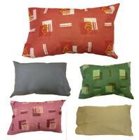 2 X Pillow Case Luxury Fine Poly cotton Printed Pair Pack Pillows Cover Cases