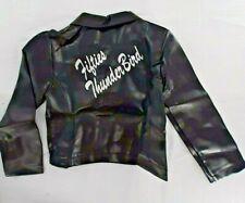 Costume Cosplay Halloween Biker 50's Greaser Jacket Child size Medium 8-10 New