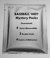 *HOT* Baseball Mystery Packs! 5th SERIES! 4 Autos or GUs/4 inserts/2 RCs 🔥