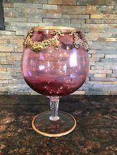 Large Decorative Brandy Snifter