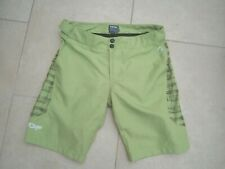FOX BIKING 2 IN 1 OFF ROAD SHORTS LIME LINER + PADDED SHORTS LIME GREEN* SMALL