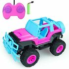 Hymaz Remote Control Car - Pink Rc Car Toy for Girls 120 Scale Big Foot RC Tr...