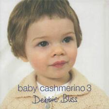 DEBBIE BLISS BABY CASHMERINO 3 PATTERN BOOK