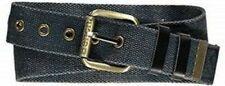 "Bench Navy Canvas Belt Size Small / Medium 28-32"" Waist"