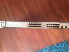 Cisco WS-C3750-24TS-S 24 Port Managed 1U Switch