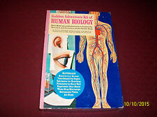 Vintage 1962 Golden Adventure Kit Of Human Biology NEW!!!