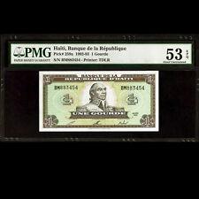 Haiti 1 Gourde 1992 1993 Banknote PMG 53 EPQ About UNC P-259a