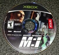 MISSION IMPOSSIBLE OPERATION SURMA - XBOX - GAME DISC ONLY - FREE S/H - (C4)