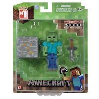 Minecraft 3-inch Zombie Action Figure