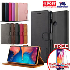 For Samsung Galaxy A20 A30 A50 A70 A31 A51 A71 Premium Leather Wallet Flip Case