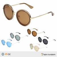 NEW Fashion HOT Women's Round Sunglasses Vintage Retro OVERSIZED Glasses Shades