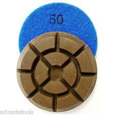 "3"" Dry Diamond Polishing Pad for Concrete - 50 Grit"