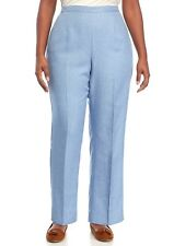 ALFRED DUNNER® Plus Size 18W Short Silver Belles Pants NWT $52