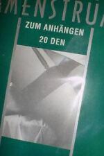 ROGO Strümpfe Farbe Weiß  zum Anhängen Gr. II 9 1/2 - 10 - 20den