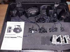 Anchor Audio PortaCom Wired Intercom w 3 Receivers & 4 headsets