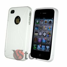 Cover Gel Silicone White S-Line for APPLE iPhone 4 e 4S