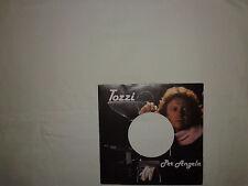 """Tozzi – Per Angela  - Copertina Forata Per Disco Vinile 45 Giri 7"""""""
