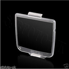 Hard Clear Plastic Rear LCD Cover Screen Protector For Nikon D200 D-SLR as BM-6